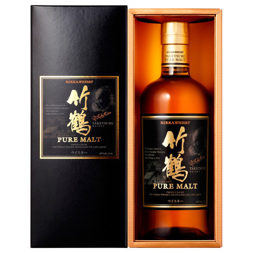 竹鶴 純麥威士忌禮品盒裝 700mL