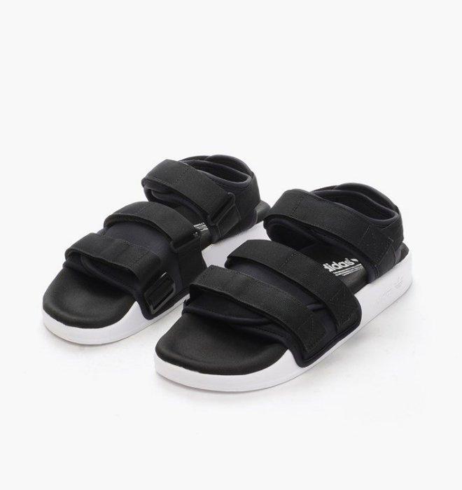 Adidas Originals Adilette Sandal 男女裝涼鞋 [黑色]