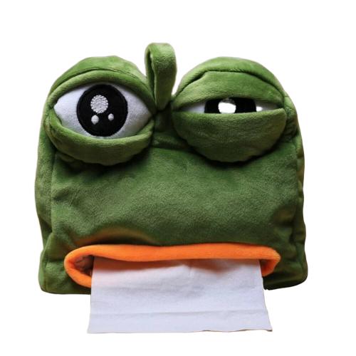 Pepe the Frog 紙巾袋/ 紙巾盒