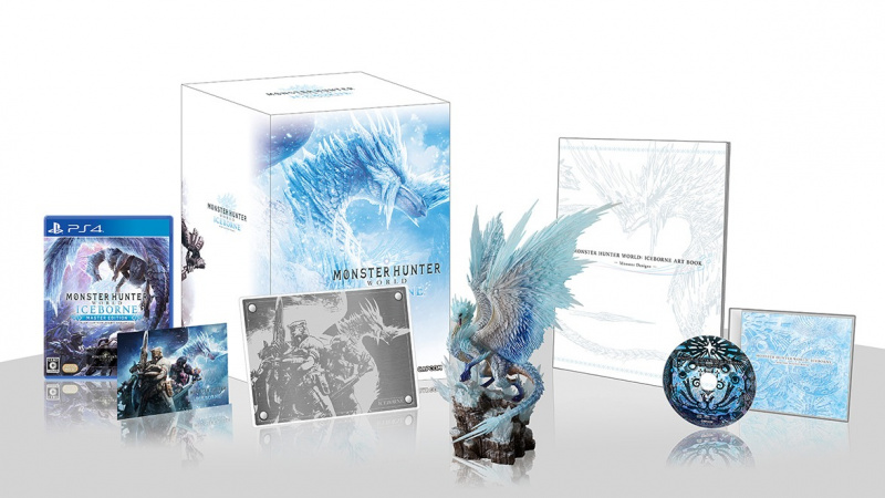 PS4 Monster Hunter World: Iceborne (Collector Edition) 魔物獵人 DLC+figure 中日英合版