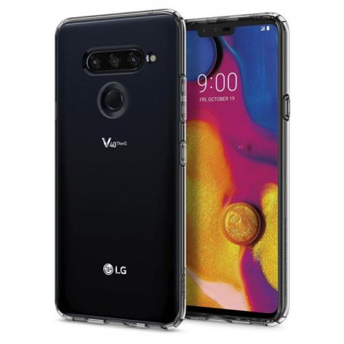 LG V40 ThinQ 雙卡智能手機 [6+128GB] [黑色]
