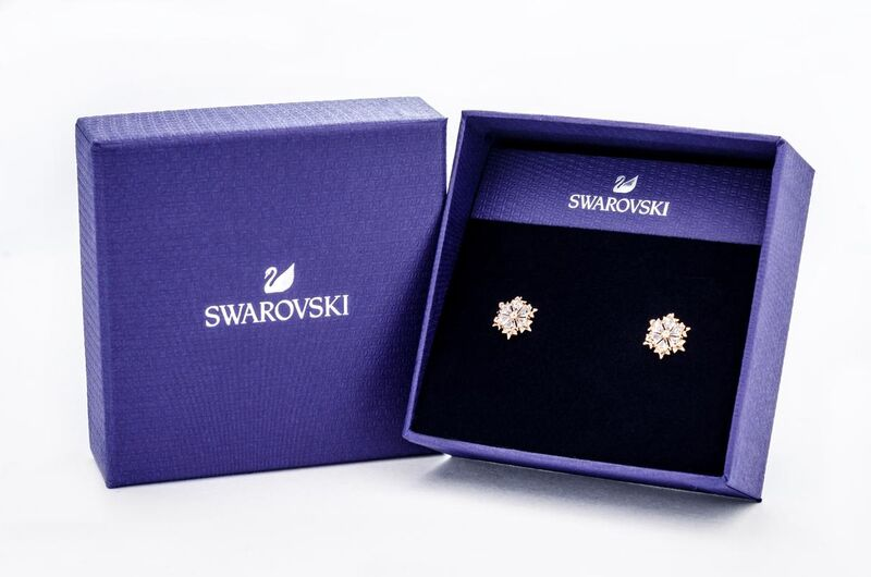 Swarovski Magic 穿孔耳環 (5428429)