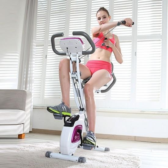 Energym X-Bike Prime 摺合式組裝健身單車 [2色]