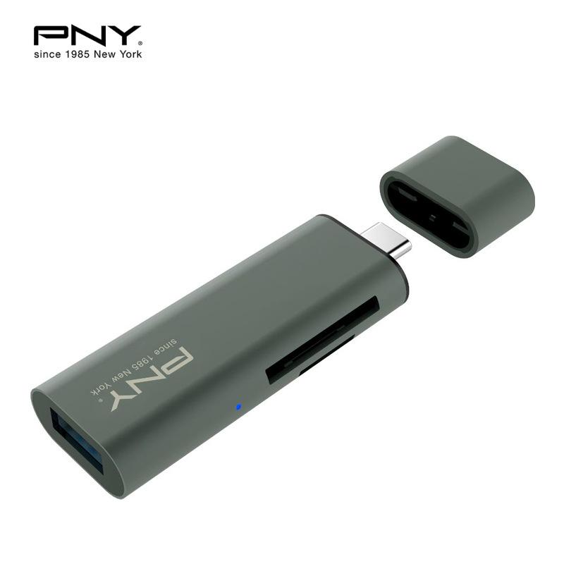 PNY UCR32 USB3.0-Type C 3in1 讀卡器