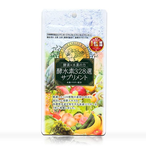 日本 酵水素328選 [60粒一包]