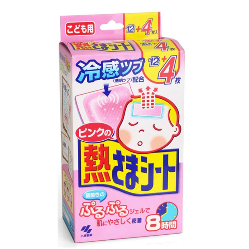 小林退熱貼(日本內銷版) 12+4片 [2款]