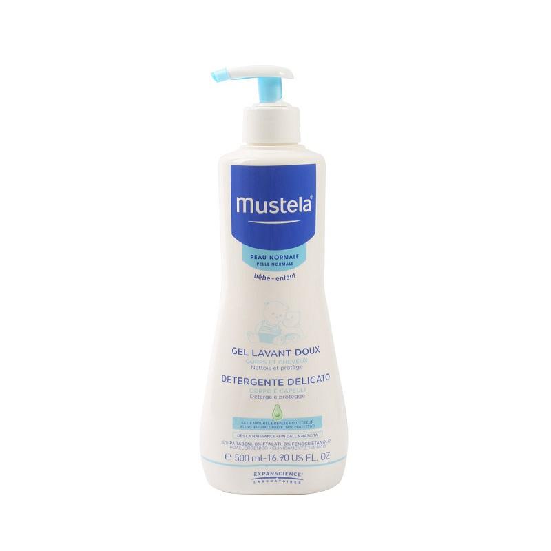 Mustela 髮膚沐浴啫喱 500mL