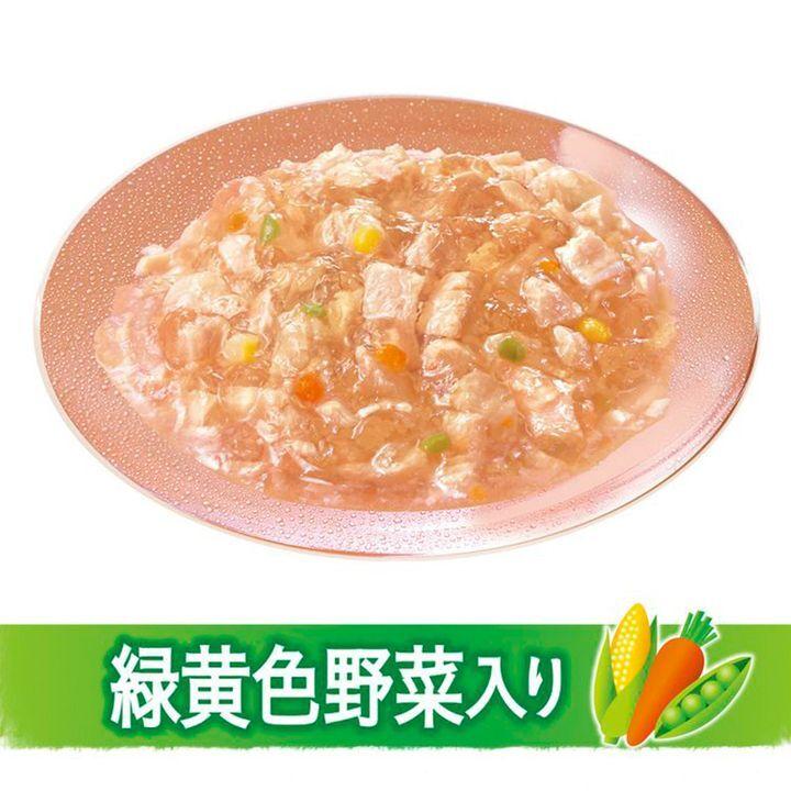日版Unicharm【雞肉野菜】低脂肪 10歳以上成犬狗濕糧(果凍型) 80g【市集世界 - 日本市集】