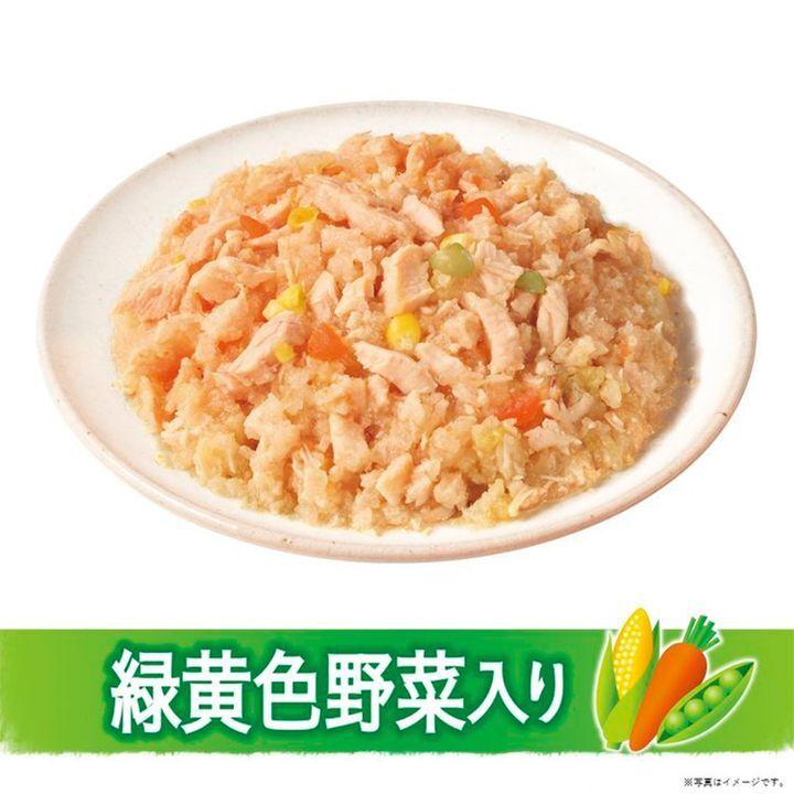 日版Unicharm【雞肉野菜】低脂肪 13歳以上成犬狗濕糧(鬆散型) 80g【市集世界 - 日本市集】