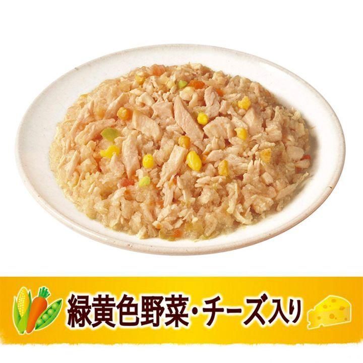 日版Unicharm【芝士雞肉野菜】低脂肪 成犬狗濕糧(鬆散型) 80g【市集世界 - 日本市集】