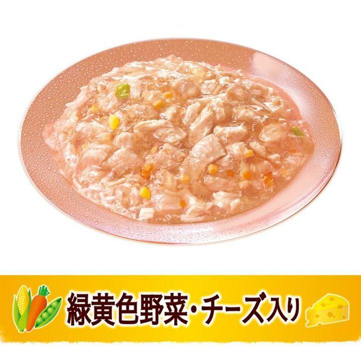 日版Unicharm【芝士雞肉野菜】低脂肪 成犬狗濕糧(果凍型) 80g【市集世界 - 日本市集】