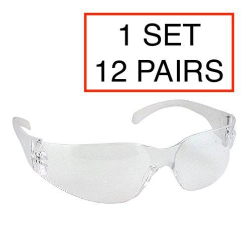 成人防飛沫眼鏡 [12件裝]