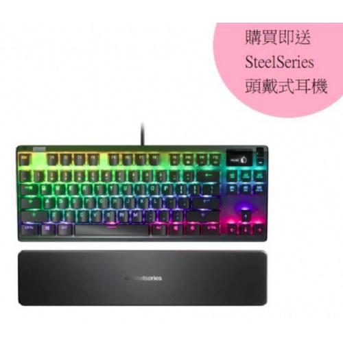 SteelSeries Apex 7 全彩光機械式鍵盤 [2軸]