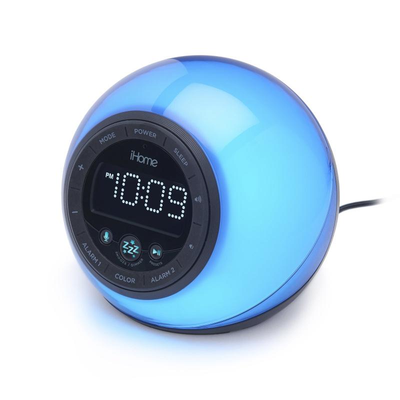 iHome iBT297V2 變色收音機鬧鐘藍牙喇叭