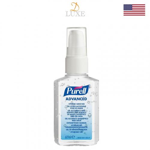 美國 Purell 酒精搓手液 60mL (1/2/3/4/5支裝)