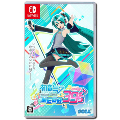 Nintendo Switch 初音未來Project DIVA MEGA39's
