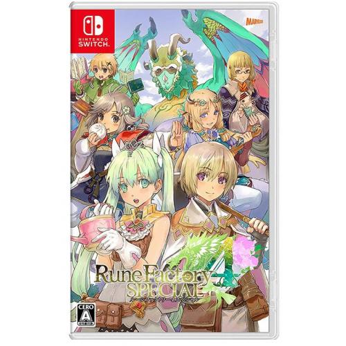 Nintendo Switch 符文工廠 4 豪華版