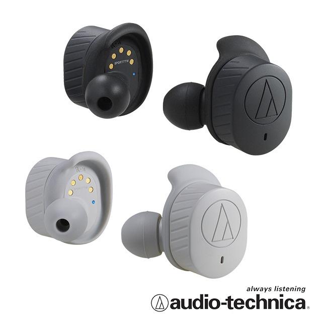 Audio-Technica ATH-SPORT7TW 真無線運動耳機 [2色]