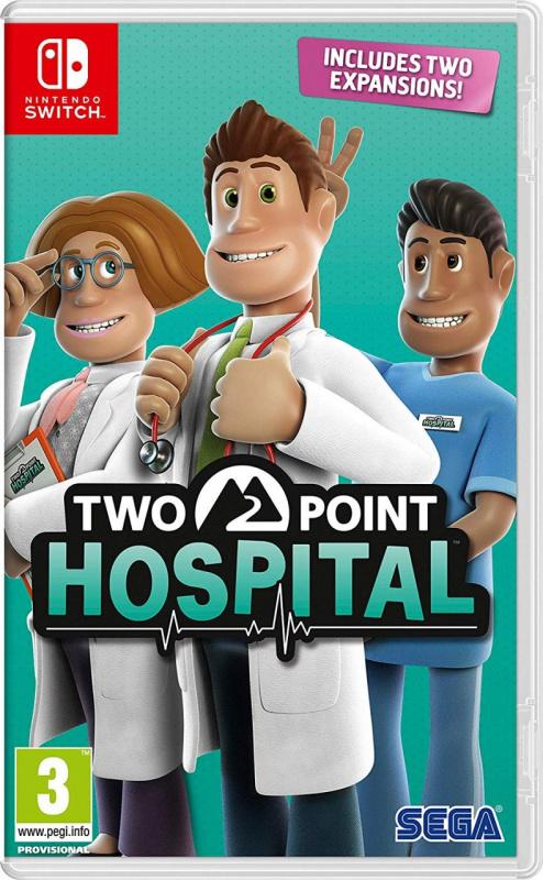 Nintendo Switch Two Point Hospital 雙點醫院 [中英文版]