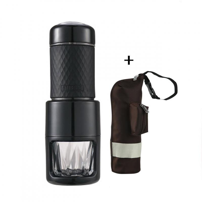 Staresso SP-200 便攜式咖啡機(配保護套) [黑色 / 白色]