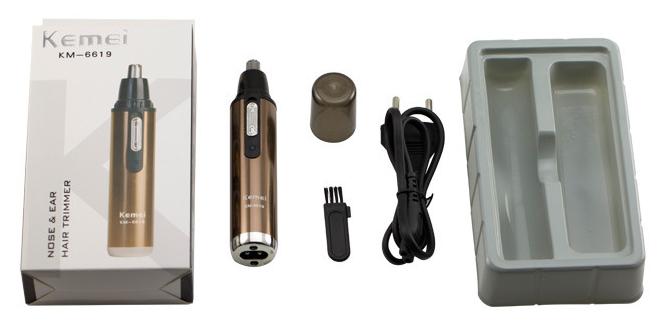 Kemei HKKM-6619 充電式電動鼻毛修剪器