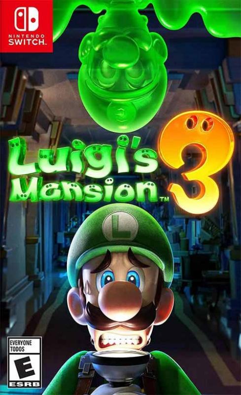 Nintendo Switch Luigi's Mansion 3 路易吉洋樓3