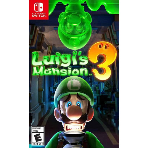 Nintendo Switch Luigi's Mansion 3 路易吉洋樓3