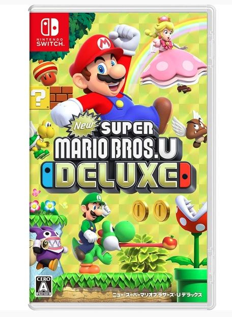 Nintendo Switch New Super Mario Bros. U Deluxe (中英日文版)
