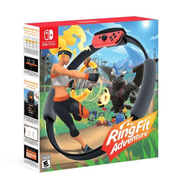 Nintendo Switch RingFit Adventure 健身環大冒險 [韓英中文版]