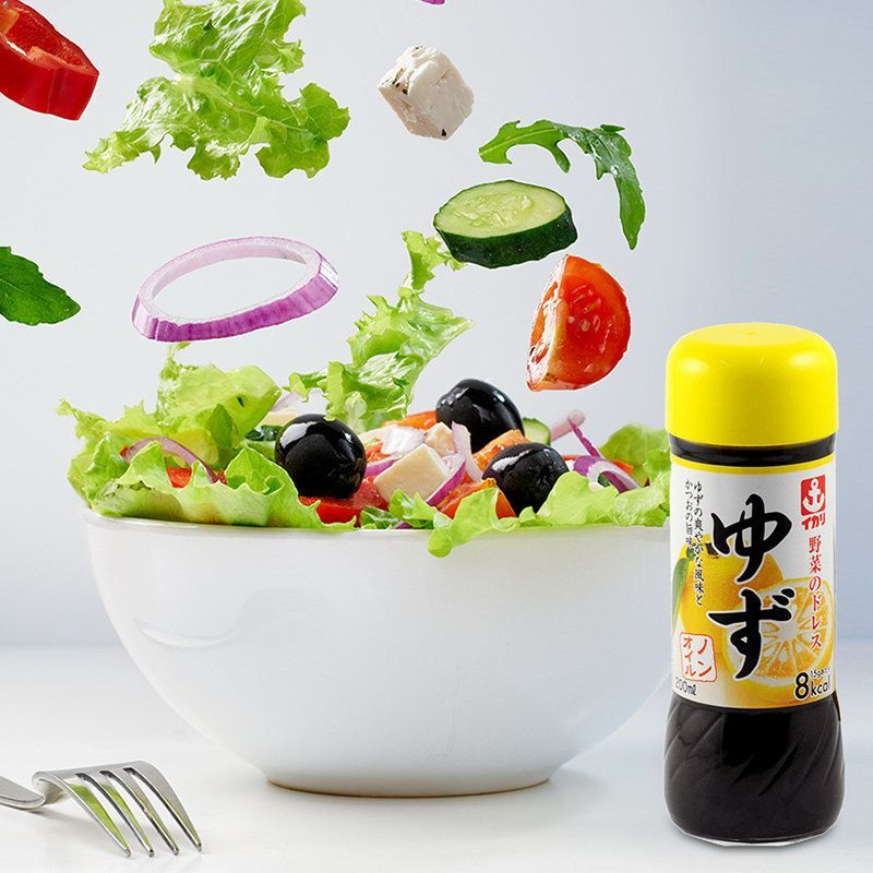 日本伊卡利Ikari【柚子】野菜沙律醬 (鍋物適用) 200g (2件裝)【市集世界 - 日本市集】
