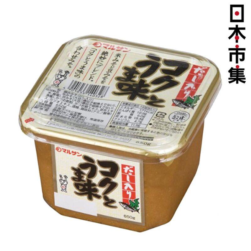 日版MARUSAN 鮮味味噌醬 650g【市集世界 - 日本市集】