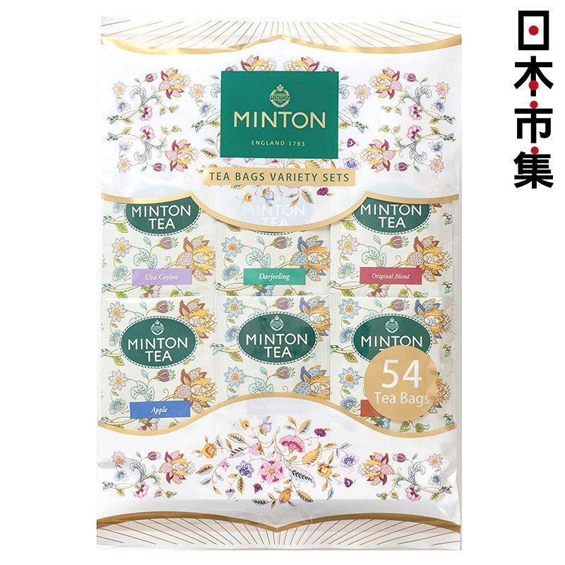 日版 MINTON 6種類 經典世界紅茶 茶包 (54包) 108g【市集世界 - 日本市集】