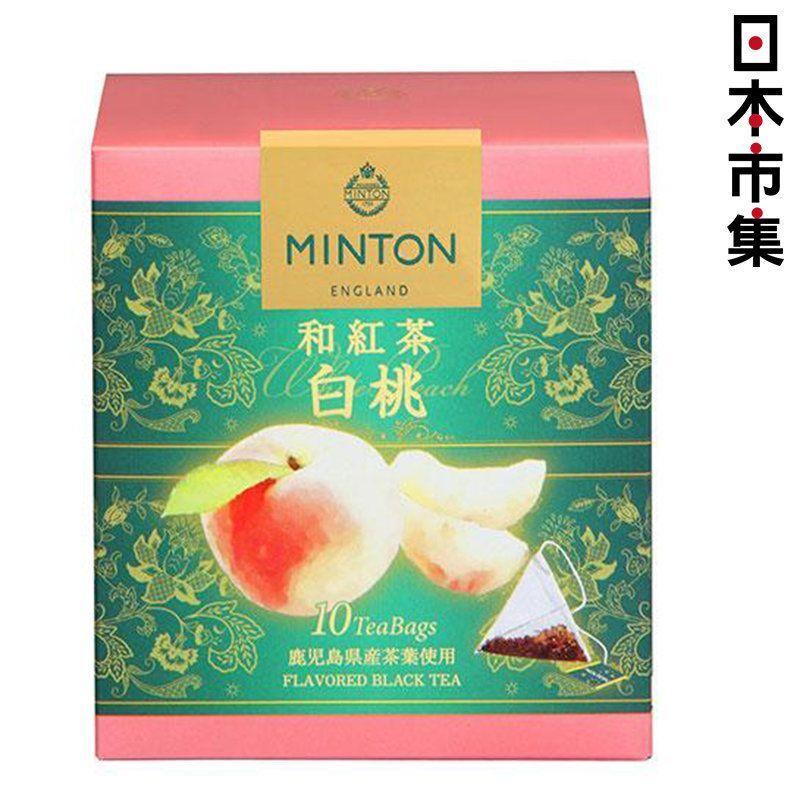 日版 MINTON 白桃 和紅茶 三角茶包 (10包) 20g【市集世界 - 日本市集】