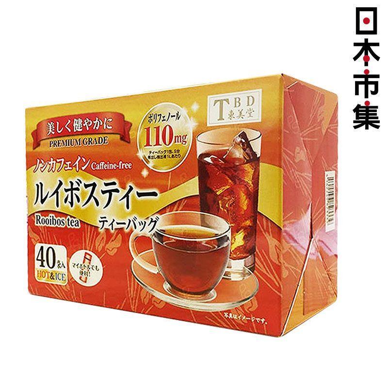 日本東美堂【無咖啡因】南非博士茶 (40包) 120g