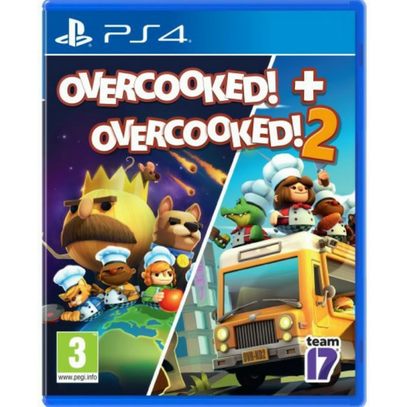 PS4 Overcooked 1+2 合集