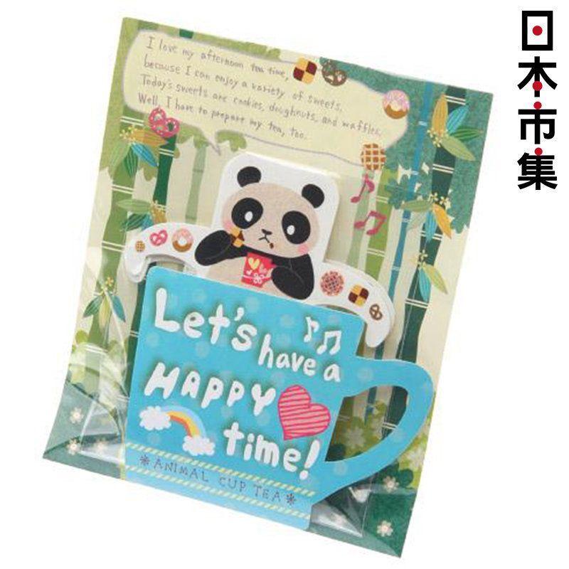 日版 熊貓圖案掛杯式茶包焦糖紅茶 3包 7.5g【市集世界 - 日本市集】