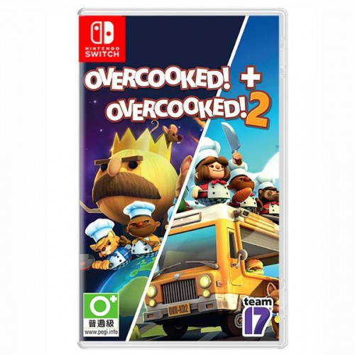 Nintendo Switch Overcooked 1+2 合集