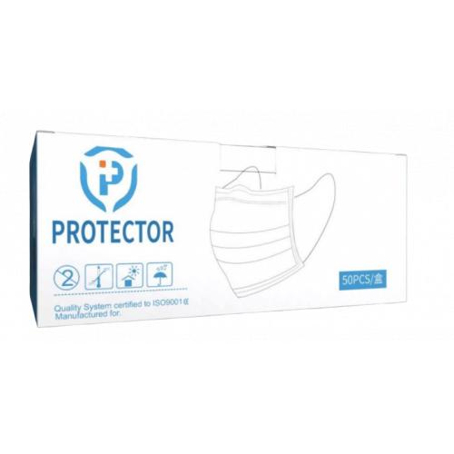 BFE 99% Protector 三層防護成人口罩[非獨立包裝] [50個裝]