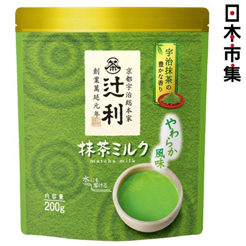 日本 辻利 即沖 宇治綠茶奶茶 200g【市集世界 - 日本市集】