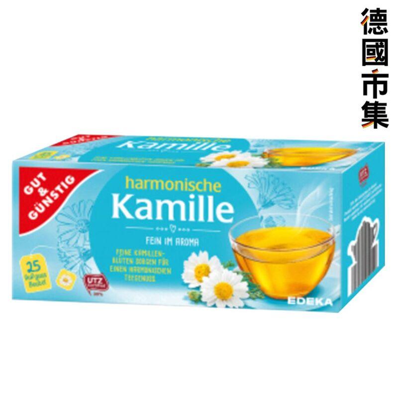 德國G&G 洋甘菊花茶 38g【市集世界 - 德國市集】