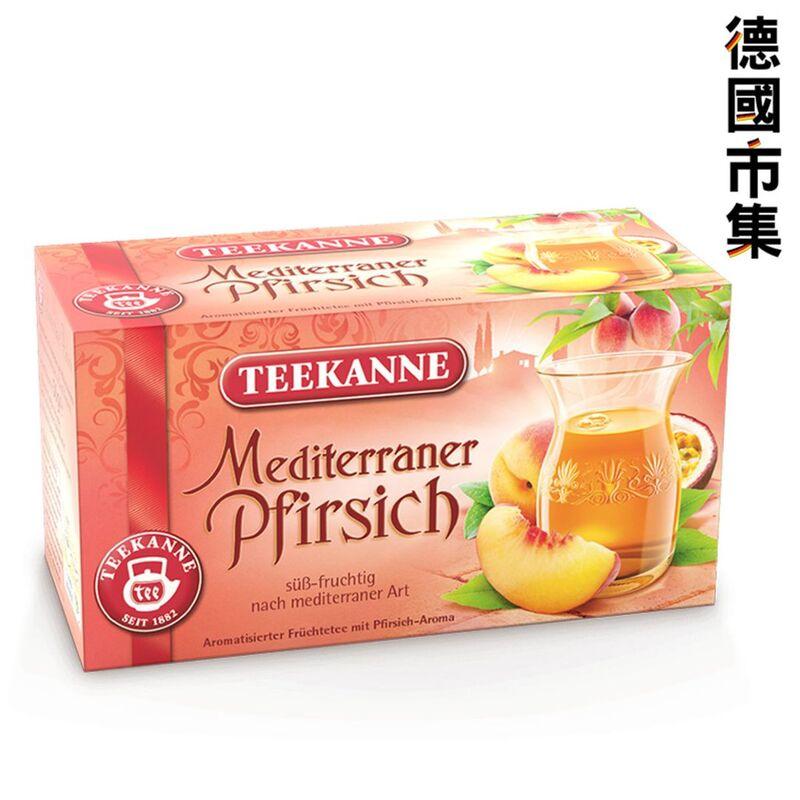德國Teekanne 地中海蜜桃茶 50g【市集世界 - 德國市集】