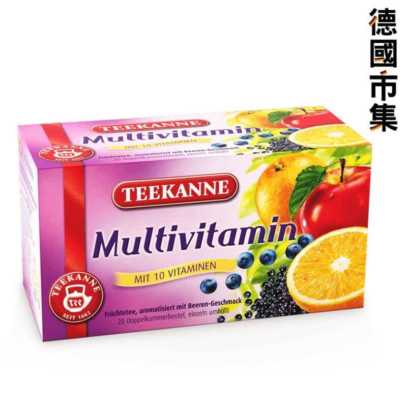 德國Teekanne 綜合維他命果茶60g【市集世界 - 德國市集】