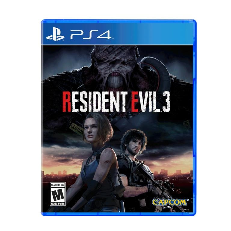 PS4 Resident Evil 3 Remake 生化危機3 重製版 (中日英韓文版)