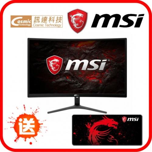 """MSI 24"""" Optix G241VC 曲面電競顯示器"""