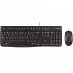 Logitech MK120 有線滑鼠鍵盤組 (黑色)