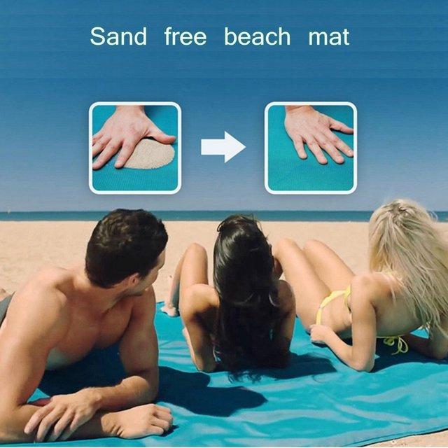 漏沙沙灘墊