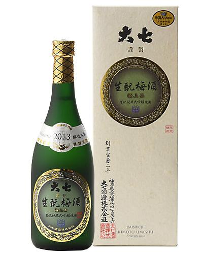 大七生酛梅酒 極上品 720mL