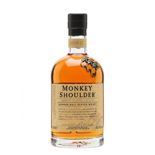 Monkey Shoulder Blended Malt Scotch Whisky 三隻猴子威士忌 700mL