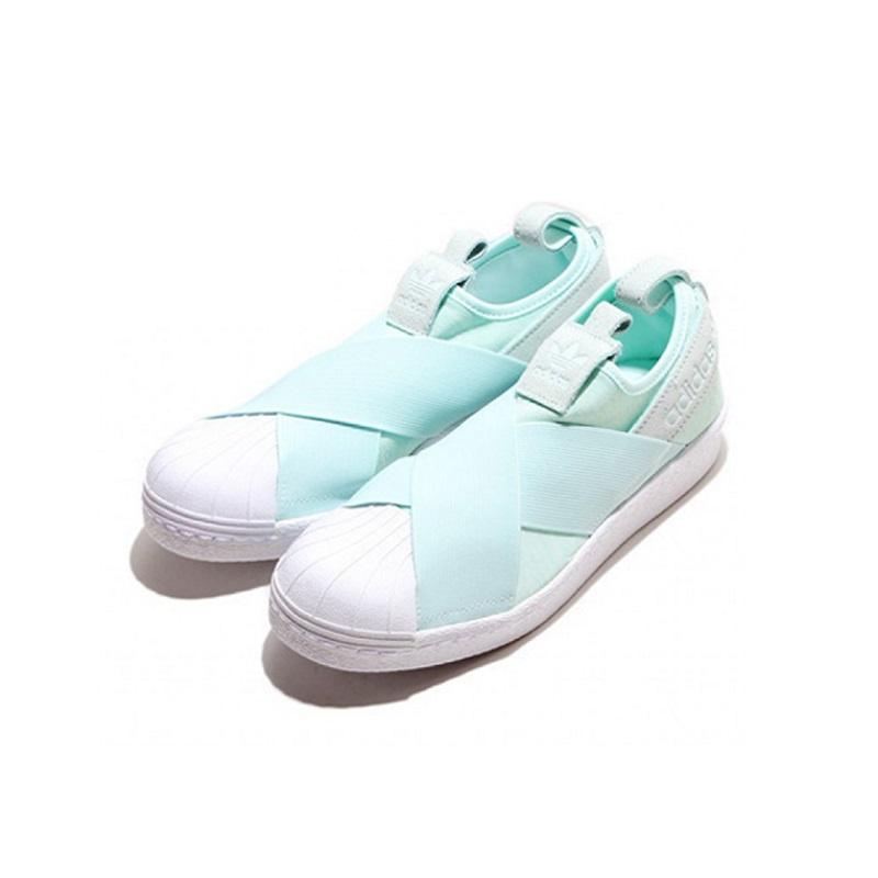 Adidas Superstar Slipon 女裝鞋 [綠色]