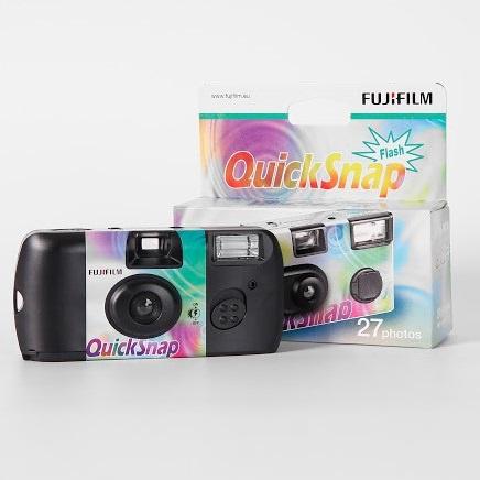 Fujifilm QuickSnap Simple Ace 即棄相機 (27張) [歐洲版]